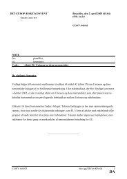 Afsnit IX:Unionen og dens nærområder