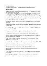 Bibliografi 2009 - Norsk Barnebokinstitutt
