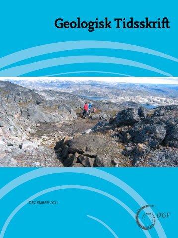 Hent pdf-fil (1.7 MB) - Dansk Geologisk Forening