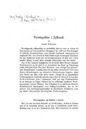 Frostspalter i Jylland - Dansk Geologisk Forening