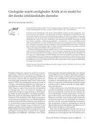 Geologiske mærkværdigheder - Dansk Geologisk Forening