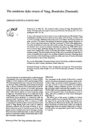 (Denmark), pp. 161-171 - Dansk Geologisk Forening