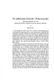 De istektoniske Forhold i Moleromraadet. - Dansk Geologisk Forening