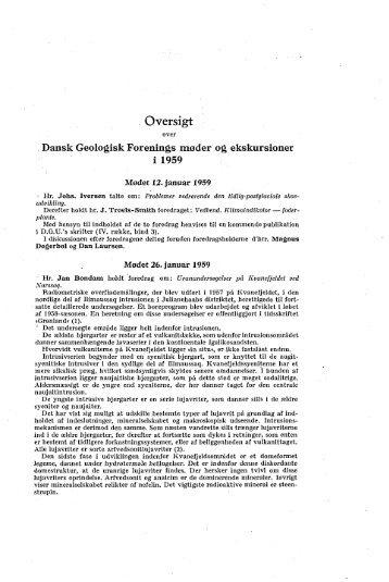 Uranundersøgelser på Kvanefjeldet ved Narssaq s. 271 GRIPP, KARL