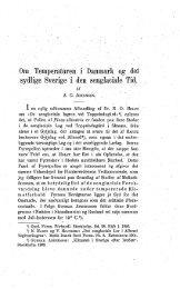 Om temperaturen i Danmark og det sydlige Sverige - Dansk ...