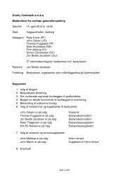 Referat fra sidste generalforsamling - Granly Vandværk