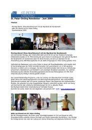 St. Peter-Ording Newsletter - Juni 2009