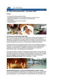 St. Peter-Ording Newsletter - November 2007