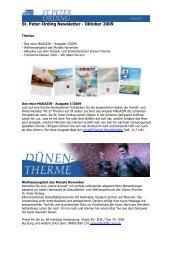 St. Peter-Ording Newsletter