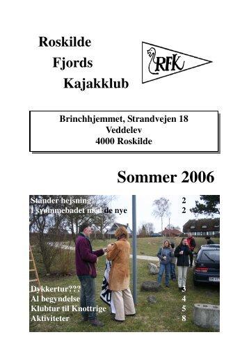 Sommer 2006 - Roskilde Kajakklub