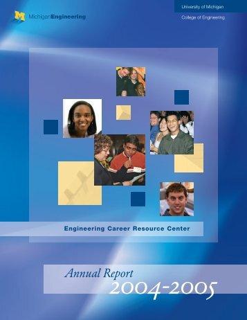 Engineering Career Resource Center - University of Michigan