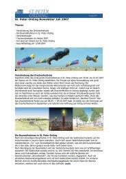 St. Peter-Ording Newsletter Juli 2007