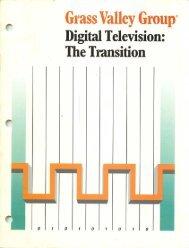 Digital Television The Transition - technicalaudio.com