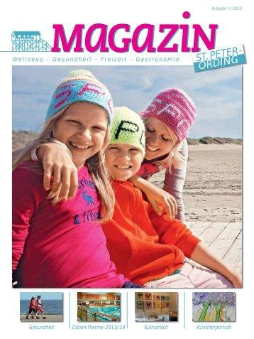 magazin 01/2013 - St. Peter-Ording