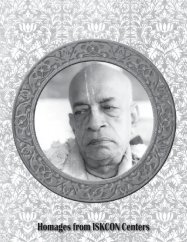 Homages from ISKCON Centers