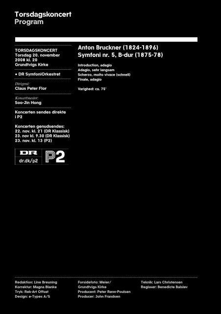 Bruckners 5. - DR