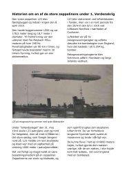 Historien om en af de store zeppelinere under 1. Verdenskrig