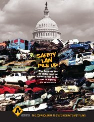 teen driving laws - Advocates for Highway and Auto Safety