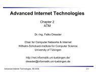 Advanced Internet Technologies - Computer and Communication ...