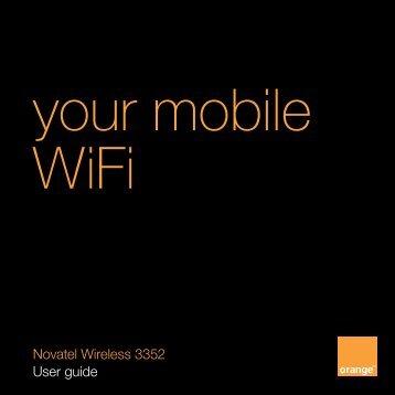 your mobile WiFi - Orange Shop