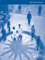 UVA Patient Handbook - University of Virginia Health System