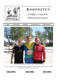 K OMPOSTEN 21. årgang • nr. 3 juni 2011 - Søllerød Orienteringsklub
