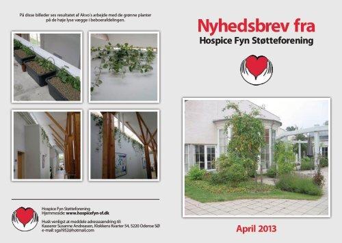 Tryk her for at downloade nyhedsbrev april 2013 - Hospice Fyn ...
