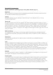 Begreber og definitioner i sundhedsloven