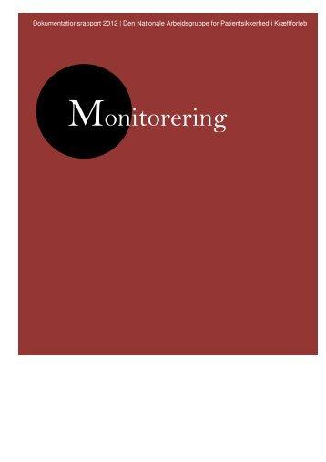 Monitorering (dokumentationsrapport 2012) - Kræftens Bekæmpelse
