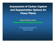 Assessment of Carbon Capture and Sequestration Options for ...