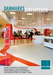 nr. 6 2008 - Danmarks Biblioteksforening