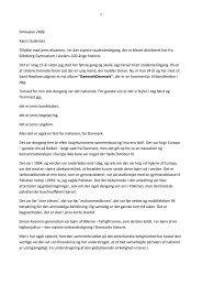 Læs hele rektors tale her - Silkeborg Gymnasium