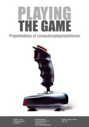 Playing The Game - Simon Lund Larsen