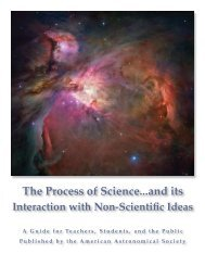 The Process of Science PDF - American Astronomical Society