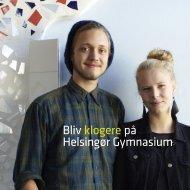 Bliv klogere på Helsingør Gymnasium