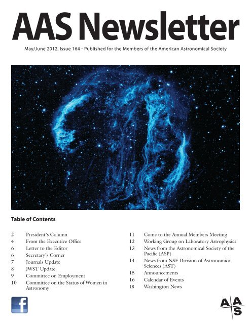 164 May/June - American Astronomical Society