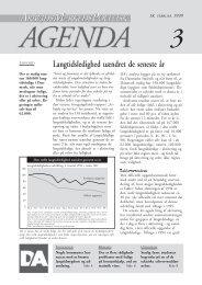 Langtidsledighed uændret de seneste år, 99/3 - DA - Dansk ...