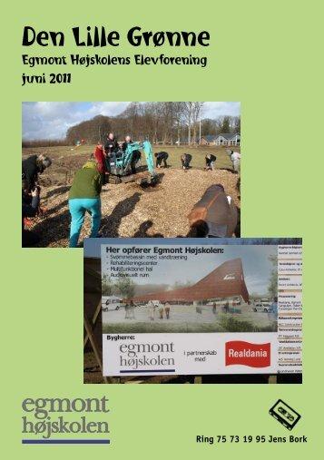 Ring 75 73 19 95 Jens Bork - egmont højskolens elevforening
