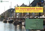 En meningsfyldt bydel - Indre By Lokaludvalg - Københavns Kommune
