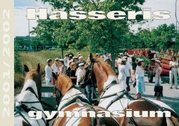 Af skolens dagbog 2001 - 2002 - Hasseris Gymnasium