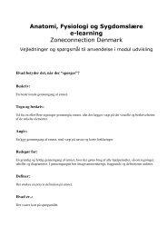 Anatomi, Fysiologi og Sygdomslære e-learning ... - Asclepius.dk