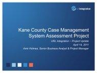 Kane County Case Management System ... - Kane County, IL