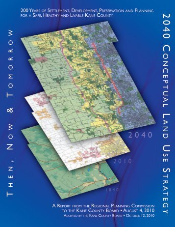 2040 Conceptual Land Use Strategy - Kane County, IL