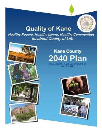 Full 2040 Plan - Kane County, IL