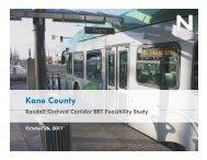 BRT for the Randall-Orchard Corridor