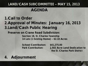 Presentation - 13-05 Development.pdf - Kane County, IL