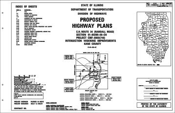 proposed highway plans - Kane County Department of Transportation