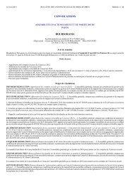Réunion assemblée générale ordinaire - Le Groupe - Boursorama