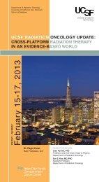 PDFbrochure - UCSF Radiation Oncology - University of California ...