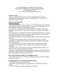 Sample Agreement Appointment Letter - UCSF Radiation